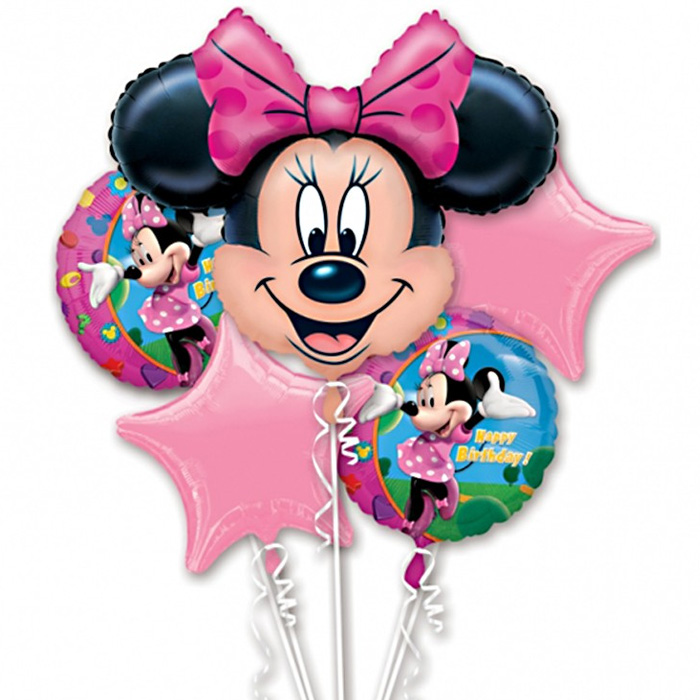 Minnie Mouse Birthday Balloon Package